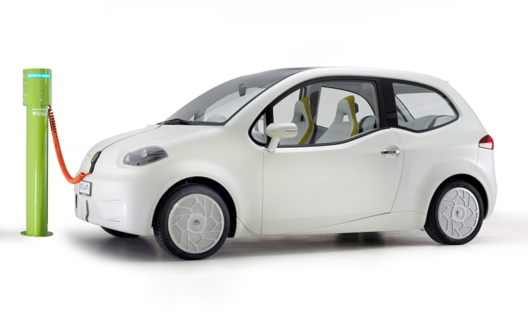 Valmet Eva electric car concept